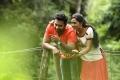 Shanthanu, Srushti Dange in Mupparimanam Movie Stills