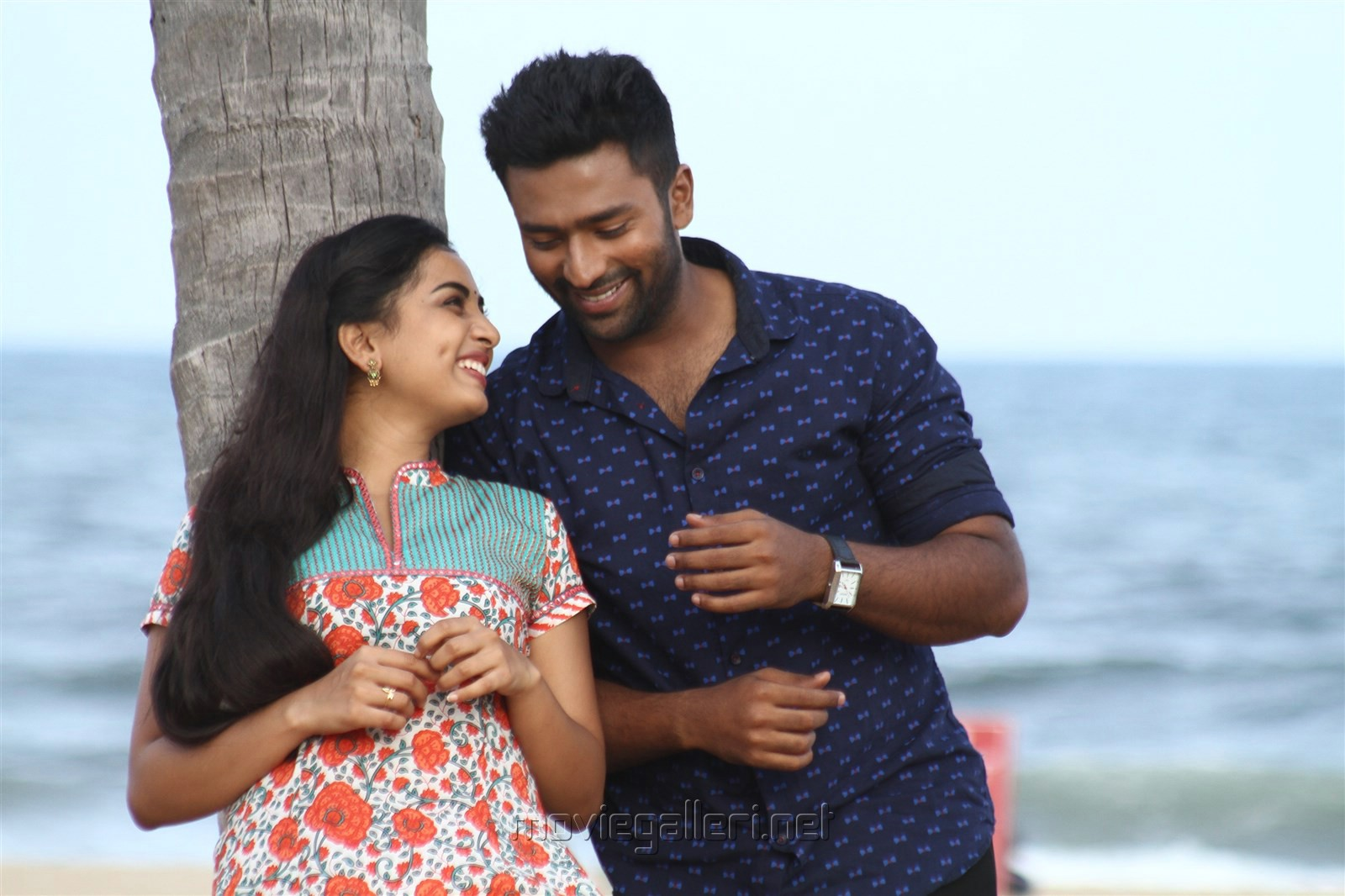 Srushti Dange, Shanthanu in Mupparimanam Movie Stills