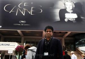 Muppozhudhum Un Karpanaigal Director Elred Kumar at Cannes Film Festival 2012