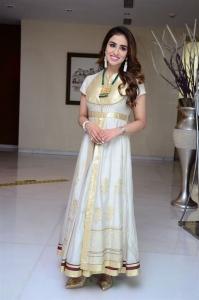 Actress Muskan Sethi Pics @ Radhakrishna Movie Interview