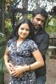 Sathish and Asrik Banu at Muthu Nagaram Shooting Spot Stills