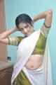 Asrik Banu Hot in Saree at Muthu Nagaram Shooting Spot Stills