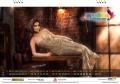Actress Shriya Saran My South Diva Calendar 2017 Wallpapers for January Month