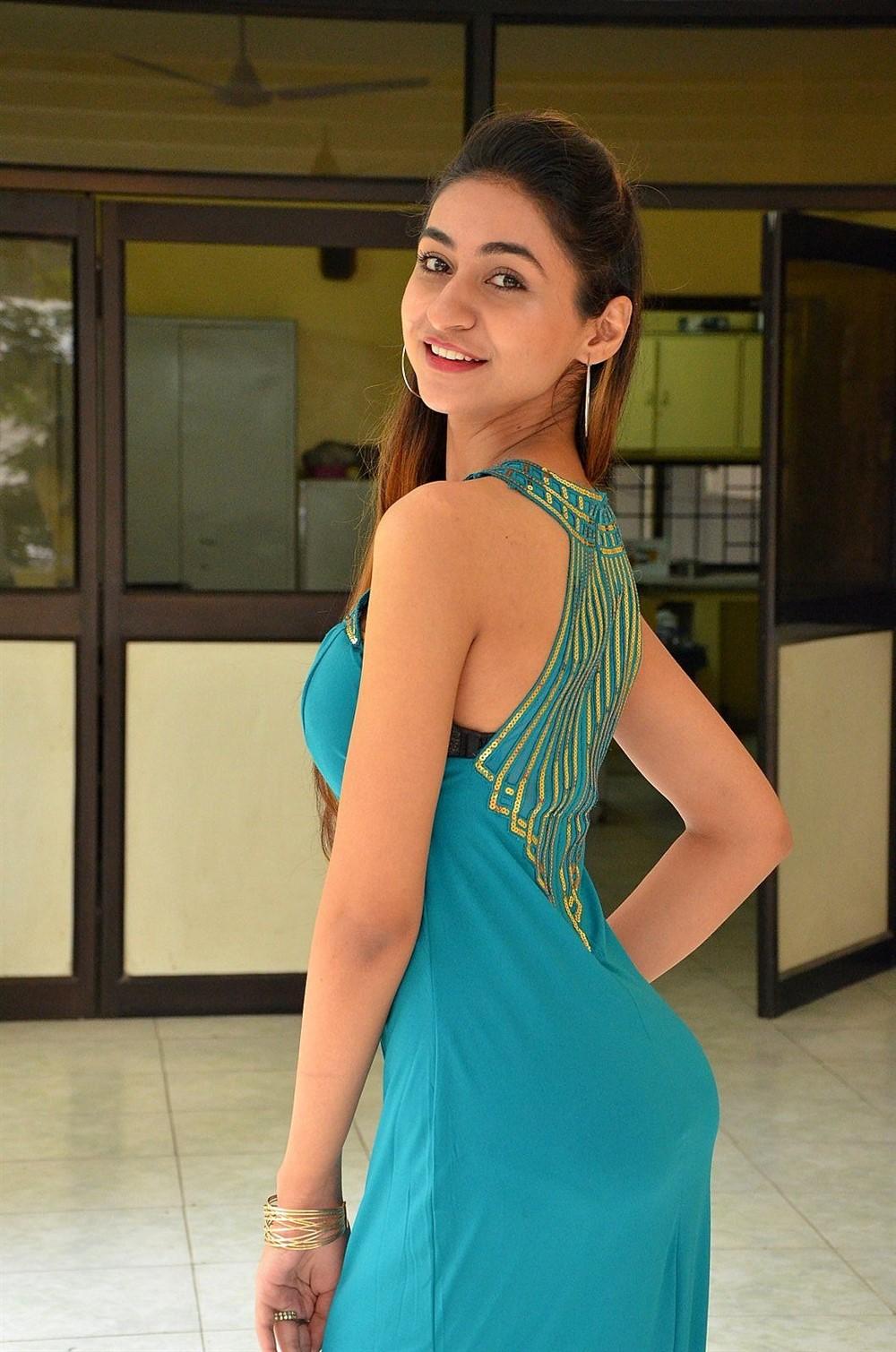Actress Myra Amiti Hot Photos @ Only Nenu Movie Trailer Launch