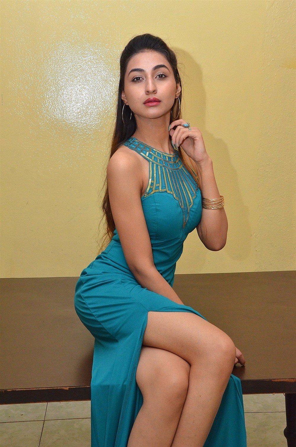 Actress Myra Amiti Hot Photos @ Only Nenu Movie Trailer Launch