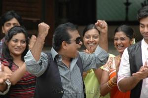 Brahmanandam in Mythri Movie Photos