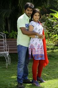 Dilip, Priyanka in Naa Sami Ranga Movie Stills