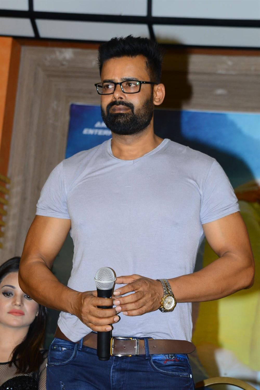 Actor Raj Suriya @ Naa Peru Raja Movie Logo Launch Stills