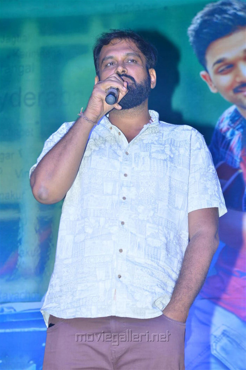Director Vakkantham Vamsi @ Naa Peru Surya Audio Launch Stills