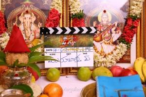 Allu Arjun's Naa Peru Surya Movie Pooja Stills