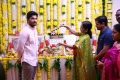Allu Arjun mother Nirmala @ Naa Peru Surya Movie Pooja Stills