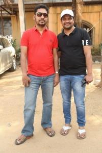 Sridhar Lagadapati, Bunny Vasu @ Naa Peru Surya Movie Press Meet Stills