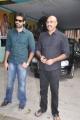 Sibiraj, Sathyaraj @ Naaigal Jaakirathai Movie Press Meet Stills