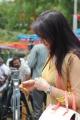 Acterss Sonia Agarwal @ Naaku Konchem Time Kavali Movie Opening Stills