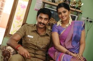 Arulnidhi, Ramya Nambeesan in Naalu Policeum Nalla Irundha Oorum Latest Stills