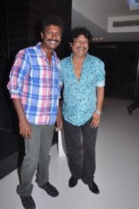 Samuthirakani at Naan Ee Premiere Show Stills