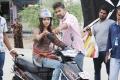Actress Samantha at Naan Ee Shooting Spot Stills
