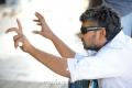 Director SS Rajamouli at Naan Ee Shooting Spot Stills
