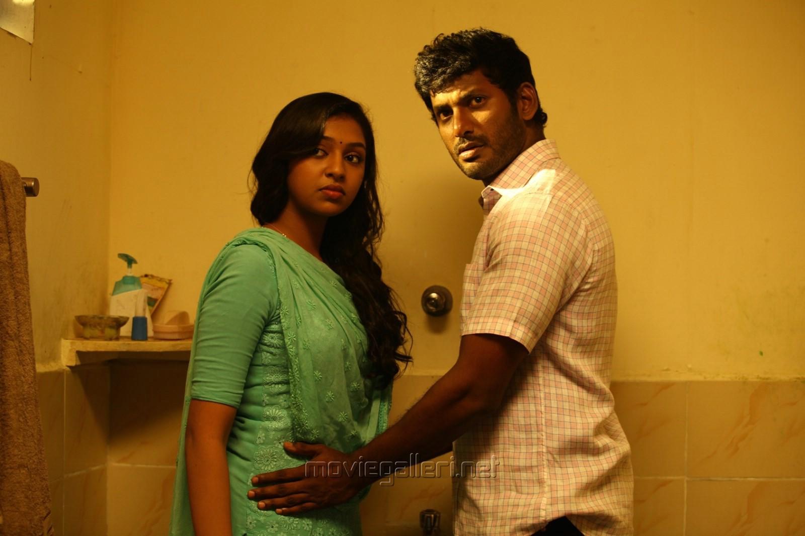 Picture 689536 | Lakshmi Menon, Vishal in Naan Sigappu ... Naan Sigappu Manithan Lakshmi Menon Hot Stills