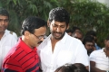 Dhananjayan, Vishal @ Naan Sigappu Manithan Movie Launch Stills