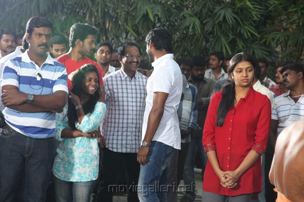 Picture 617917 | Vishal, Lakshmi Menon @ Naan Sigappu ... Naan Sigappu Manithan Lakshmi Menon Hot Stills