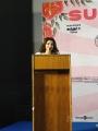 Iswarya Menon @ Naan Sirithal Success Meet Stills