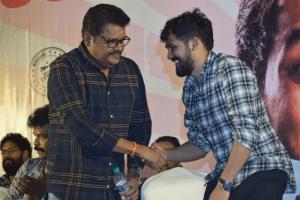 KS Ravikumar @ Hiphop Tamizha Adhi @ Naan Sirithal Success Meet Stills