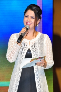 Anchor Shilpa Chakravarthy @ Naatu Kodi Audio Launch Stills