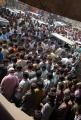 Nayak Movie Hungama at Sandhya 70mm Theatre Hyderabad