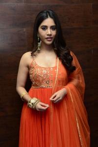 Alludu Adhurs Movie Heroine Nabha Natesh New Pictures