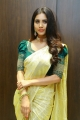 Actress Nabha Natesh Saree Photos @ Sri Kanchi Alankar Silks Launch