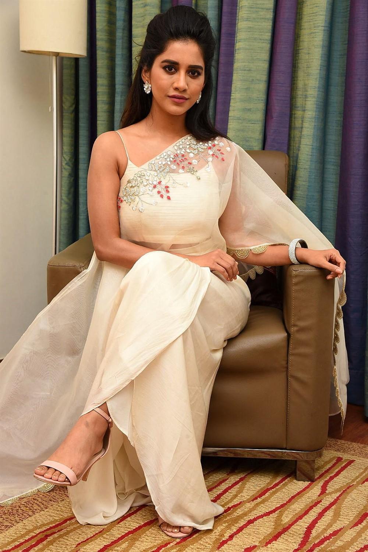 Actress Nabha Natesh Photos @ iSmart Shankar Promotions