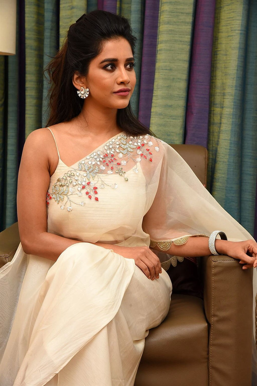 Actress Nabha Natesh Photos @ iSmart Shankar Promotions