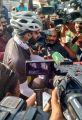 Arya Cast Vote @ Nadigar Sangam Elections 2019 Photos