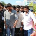 Vijay @ Nadigar Sangam protest for Cauvery Management Board (CMB) & Sterlite Ban Photos