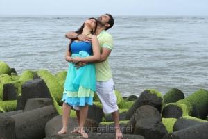 Sana Khan, Aravind Akash in Nadigayin Diary Movie Hot Stills