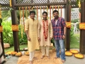 Actor Akkineni Nagarjuna & Victory Venkatesh @ Naga Chaitanya Bridegroom Photos