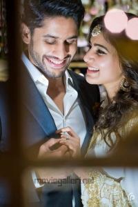 Actor Naga Chaitanya Actress Samantha Ruth Prabhu Engagement Pictures