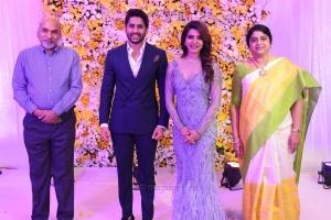 Naga Chaitanya Samantha Wedding Reception Photos