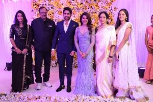 Krishnam Raju, Shyamala @ Naga Chaitanya Samantha Wedding Reception Photos