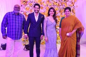 MM Keeravani, Srivalli @ Naga Chaitanya Samantha Wedding Reception Photos