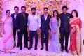 Naga Susheela, Akhil, Venkatesh, Chiranjeevi, Nagarjuna, Amala @ Naga Chaitanya Samantha Wedding Reception Photos