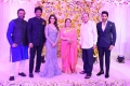 Vijaya Naresh, Nagarjuna, Vijaya Nirmala, Krishna @ Naga Chaitanya Samantha Wedding Reception Photos