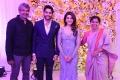 SS Rajamouli, Rama @ Naga Chaitanya Samantha Wedding Reception Photos