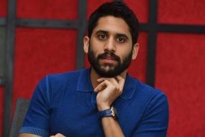Hero Naga Chaitanya Stills @ Venky Mama Movie Interview