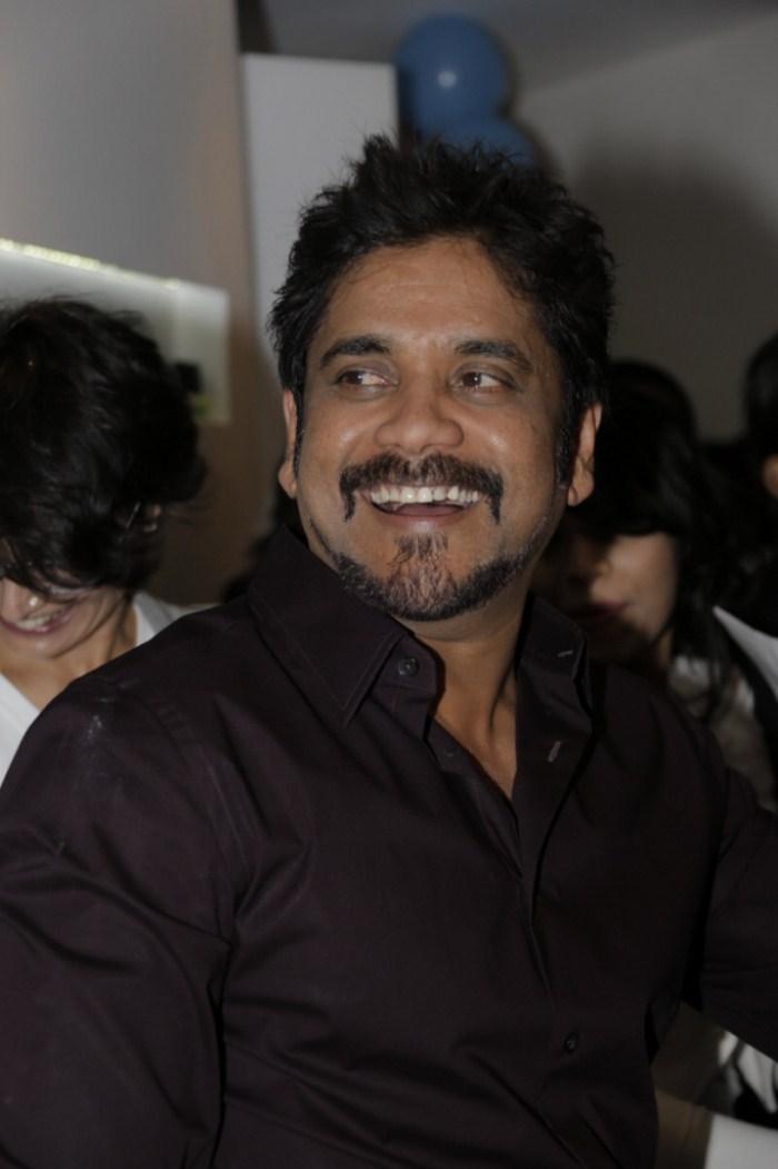 Nagarjuna in French Beard at b:blunt Salon, Banjara Hills, Hyderabad