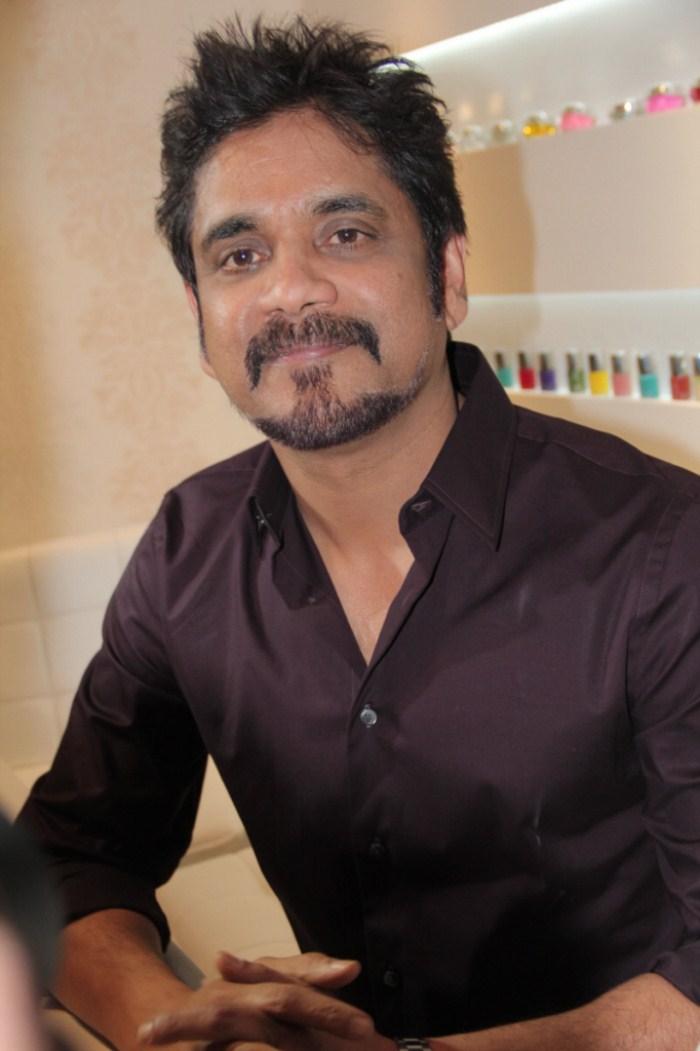 Nagarjuna in French Beard at b blunt Salon  Banjara Hills  HyderabadBeard Styles For Tamil Actors