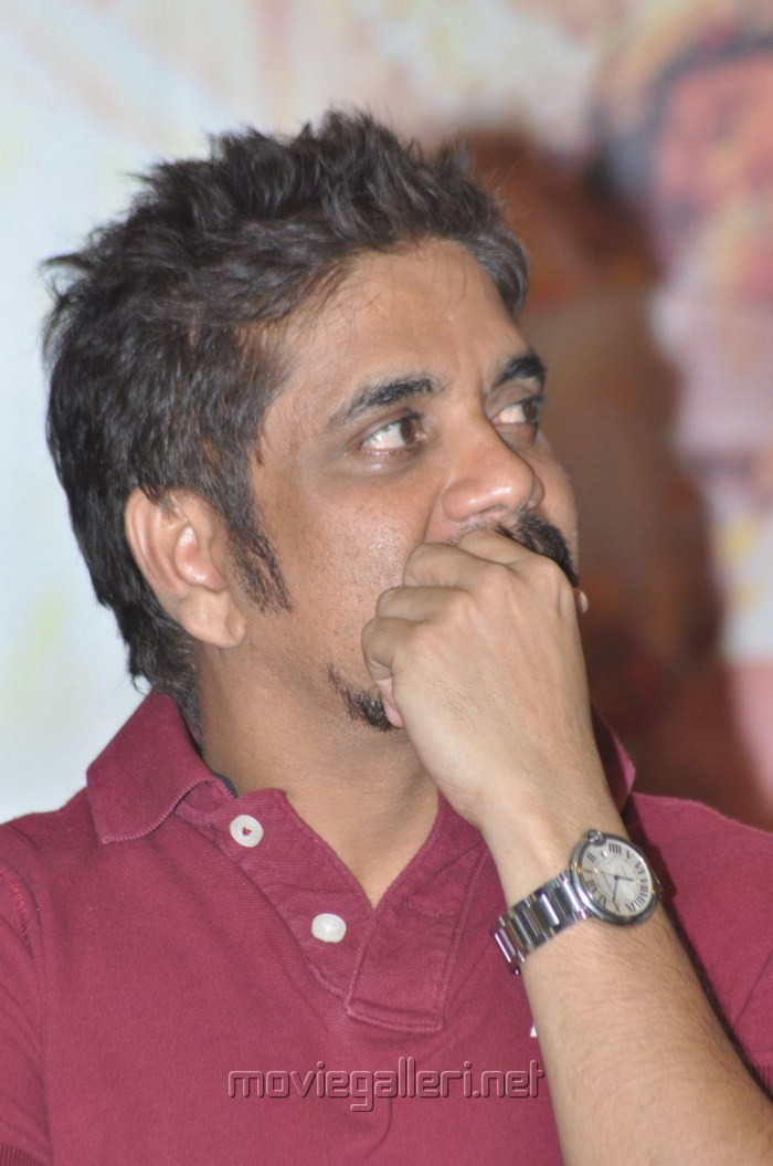 Picture 258692 Akkineni Nagarjuna Photos At Shirdi Sai Movie Press