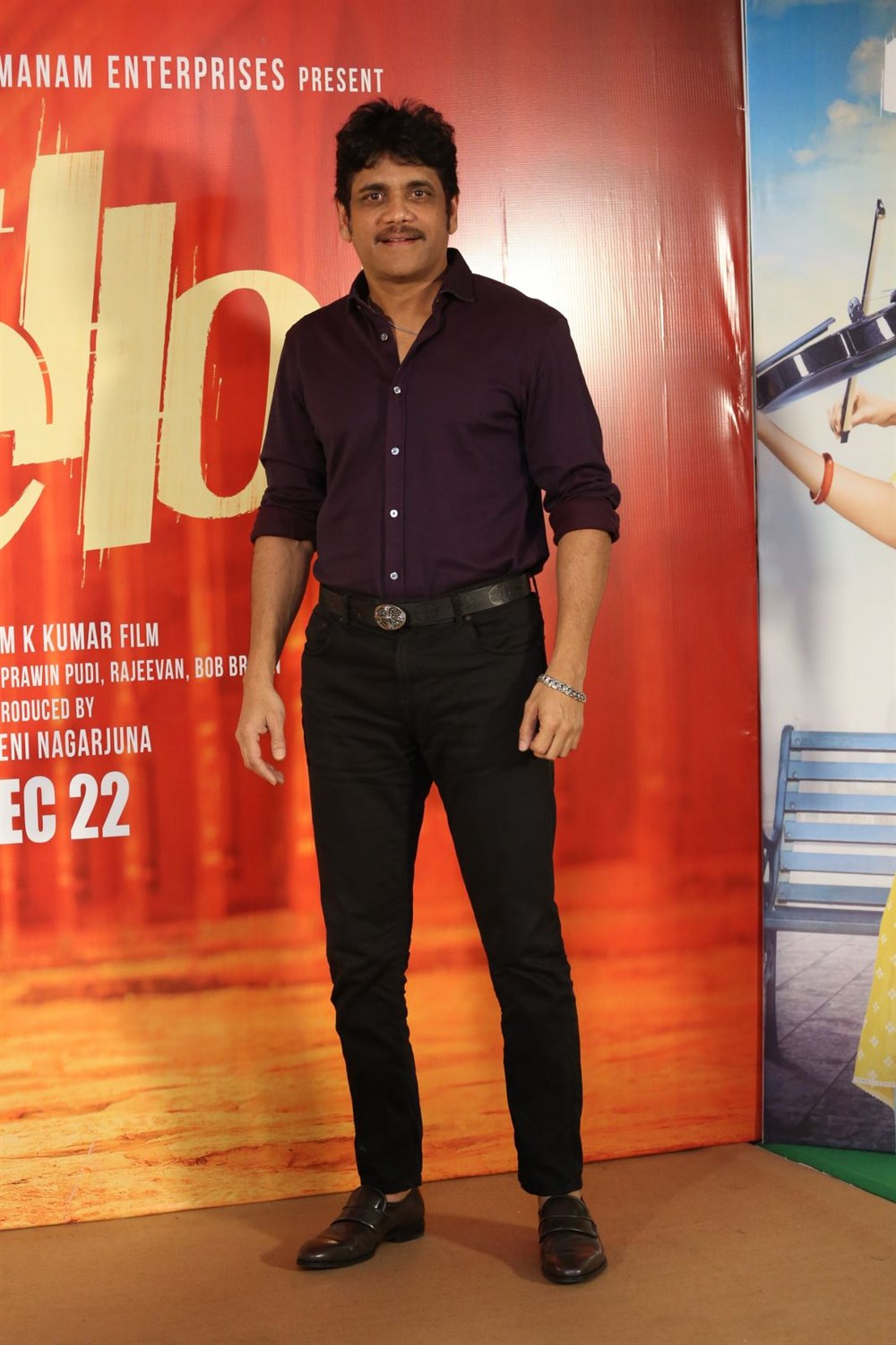 Hello Movie Producer Akkineni Nagarjuna Press Meet Stills