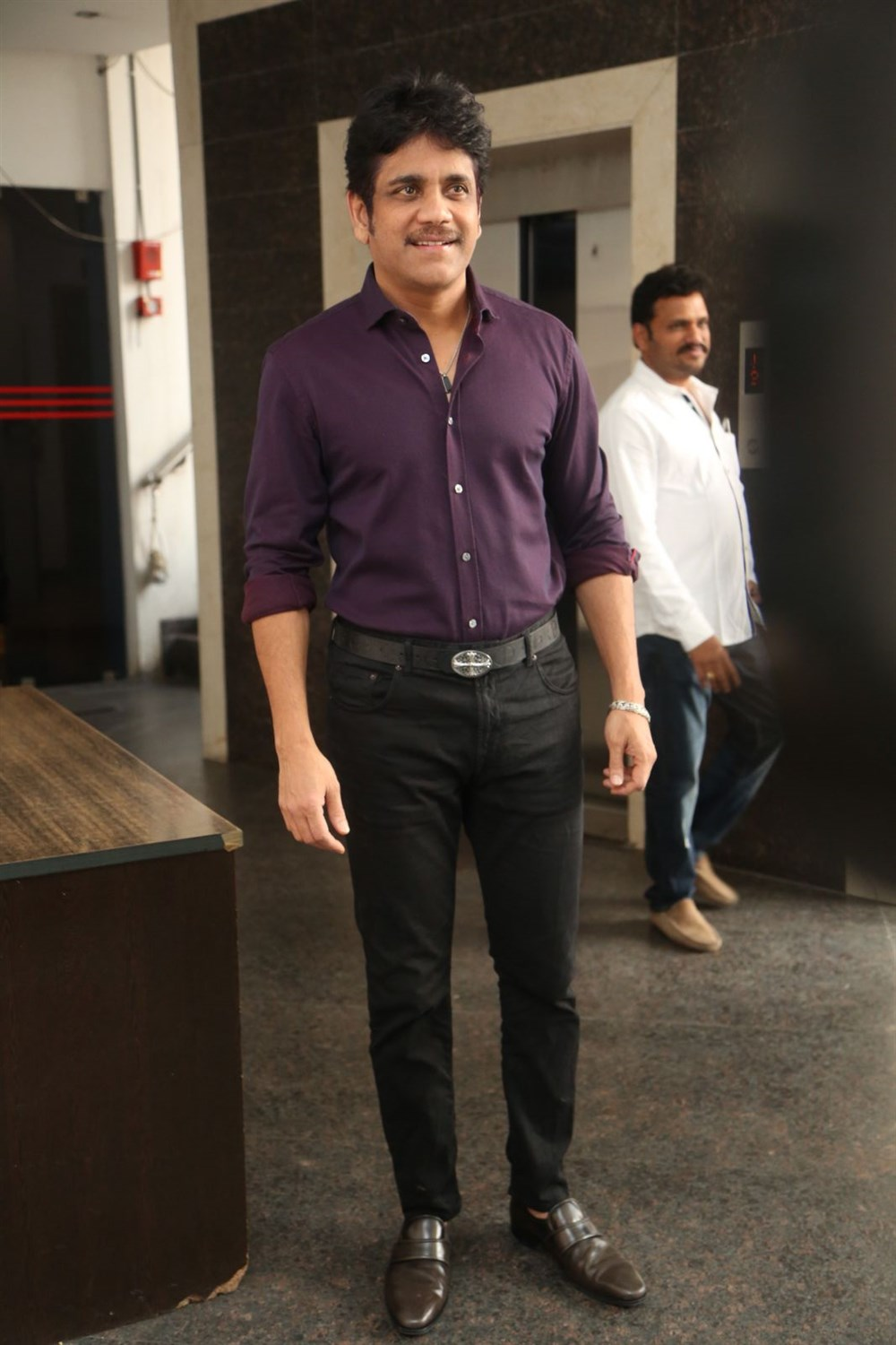 Producer Nagarjuna press meet about Hello Movie